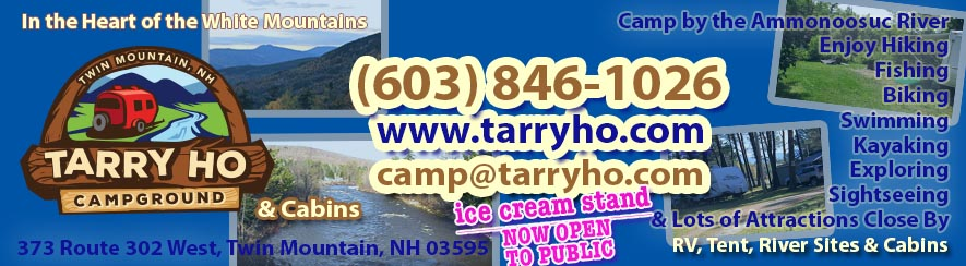 Tarry Ho Campground in the Heart of NH's White Mountains